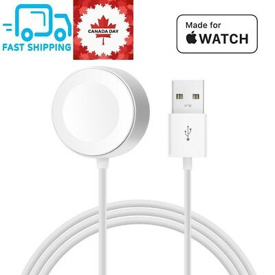 For Apple Watch iWatch Series 1/2/3 1M Magnetic Charger Charging Pad Cable CA