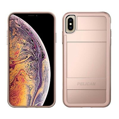 Pelican Protector Case for iPhone Xs Max - Metallic Rose Gold