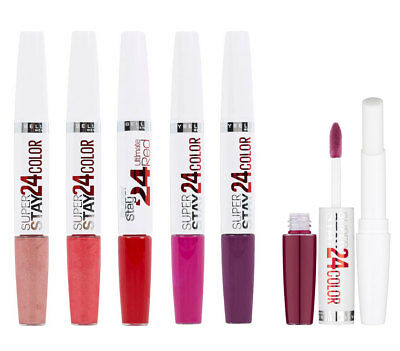 MAYBELLINE Super Stay 24Hr Dual Ended Lip Colour Lipcolour Lipstick~Choose Shade