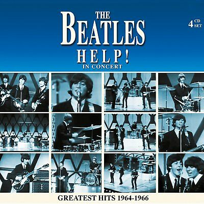 The Beatles - Help! In Concert: Greatest Hits 1964-'66 4 Cd Set