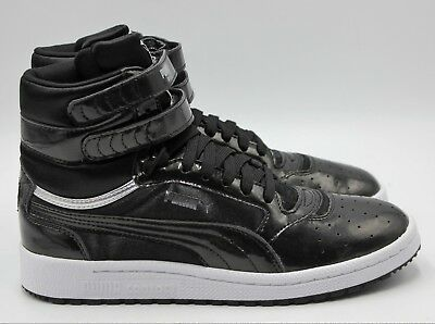 3339a59f4f1a PUMA Sky II Hi Explosive Women s High Top Sneaker - Black - NEW Authentic