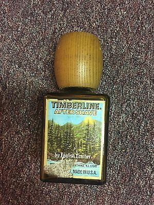 English Leather Vintage Timberline After Shave Bottle Made in Spain