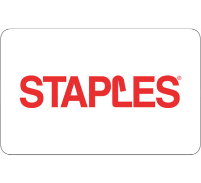 Buy $100 Staples gift card + get a BONUS $10 Staples card (2 cards) - Emailed