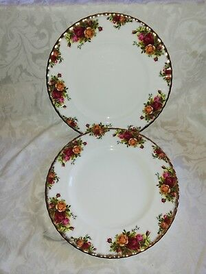 Royal Albert Old Country Roses (2 dinner plates 1st quality 10.25 inches