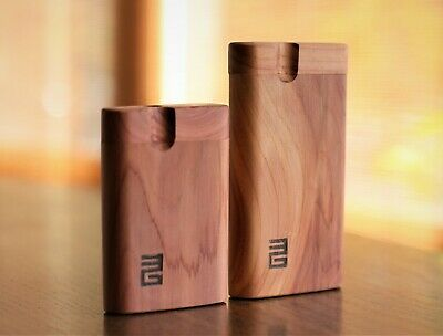 """4"""" Tennessee Cedar Wood Dugout with One Hitter Bat-Perfect Gift-Smoking Gift"""