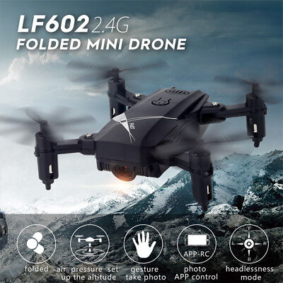 Drone x pro 2.4G Selfi WIFI FPV With 720P HD Camera Foldable RC Quadcopter S8Z3