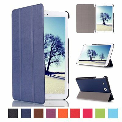 AU For Samsung Galaxy Tab A 10.1 T580 Tablet Flip Leather Smart Cover Case LotW1