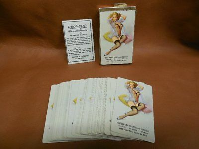 Redislip Elvgren Complete Deck of Playing Cards Pinup Girl Poker Bridge