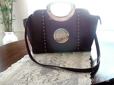 ROYCE LEATHER WOMEN S Colombian Leather Shoulder Bag - Leather ... 02beafc601890