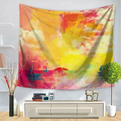 Wall Hanging Tapestries Beach Towel Yoga Mat Blanket Bedroom Decor CraftsQC SG