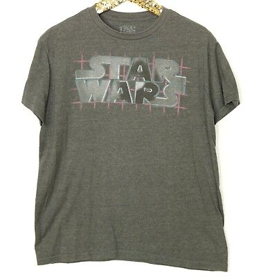 Star Wars True Vintage Mens T-Shirt Shirt Size M Medium Grey