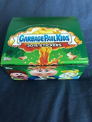 Topps Garbage Pail Kids Open Box Inc Cards With Some Wrappers