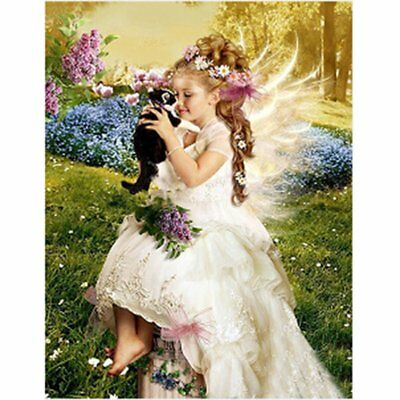 Little Beauty Painting Handmade Diamond Painting Wall Embroidery Decoration KQ