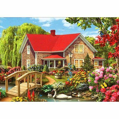 House Painting Handmade Diamond Painting Indoor Wall Embroidery Decoration F KQ