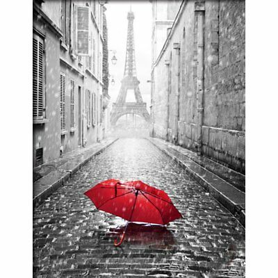 Red Umbrella Painting Handmade Diamond Painting Wall Embroidery Decoration A KQ