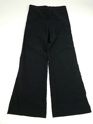Noppies Womens Maternity Pants Size Large Pull On Black Stretch