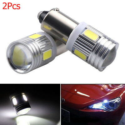 Interior 5630 6 SMD BA9S T4W H6W 363  Car Wedge Side Light License Plate Bulb