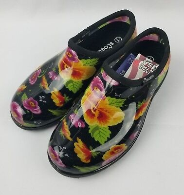 Women's Garden Shoes >> Sloggers Women S Garden Shoes Size 7 Pansy Black 19 99