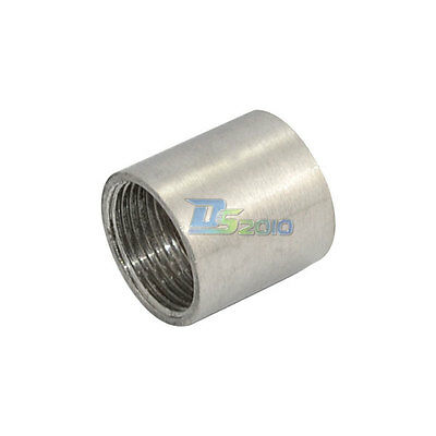 "3/4"" 0.75"" Female x Female Threaded Pipe Fitting Stainless Steel SS304 NPT F/F"