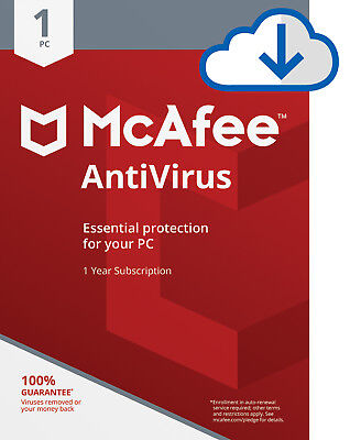 McAfee AntiVirus Plus 2021 -3 Years -1 Pc/3/5 Pcs Subscription Download