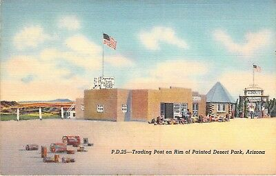 Trading Post on Rim of Painted Desert Park, Arizona, Route 66