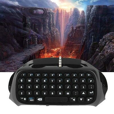 Wireless Bluetooth Keyboard Accessory Adapter for Sony PS4 Controller W1