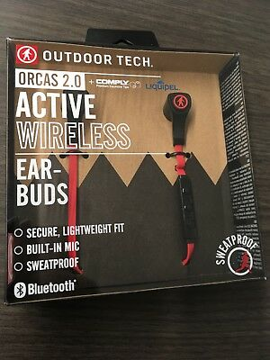 Outdoor Tech OT5300 Orcas 2.0 Ultralight Wireless Bluetooth Earbuds with Comply