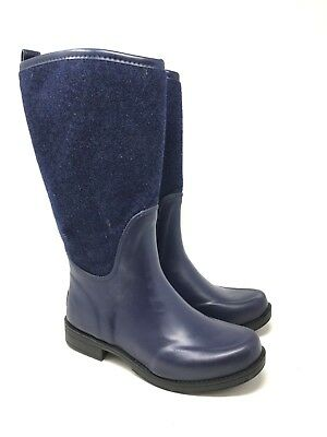 UGG Women's Reignfall Rain Navy Tall Boots Style: 1014455 Size:7