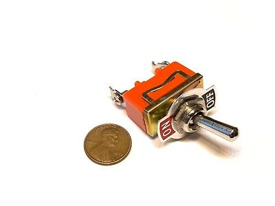 1 Piece SPST ON-OFF 15A 250V Latching orange 2 pin Toggle switch A15