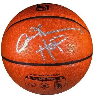 fff1dbe1dce Allen Iverson Signed Auto Nba Game Series Basketball 76Ers Nuggets