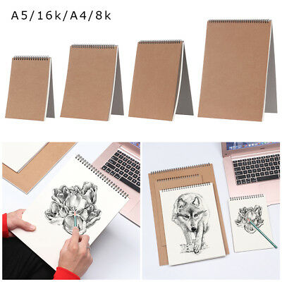 A5/16k/A4/8k Watercolor Paper Sketch Book Graffiti Sketch Hand Painting Notebook
