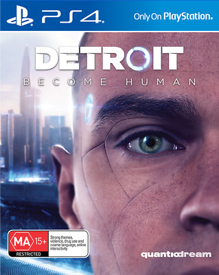 Detroit Become Human, Playstation 4 Game, USED