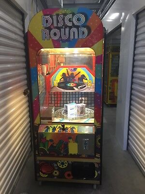 Disco Round ELAUT Magnetic Crane/Claw Machine Arcade Game! Shipping Available!