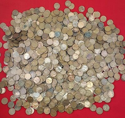 Indian Head Cents /& Wheat Cents mixed lot of 100 UNSEARCHED pennies 2 rolls