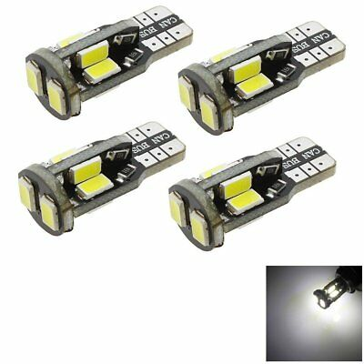 T10 Car Bulbs Led Error Free Canbus 6 Smd Xenon White W5W 501 Side Light Bulb Dd