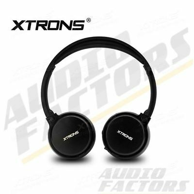 Universal Dual Channel Wireless Cordless Stereo Infrared IR Headphone Headset