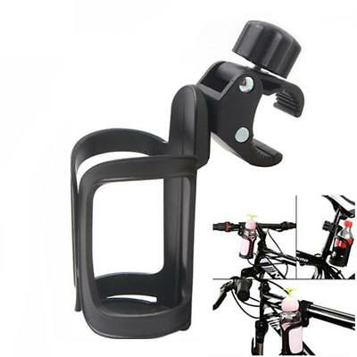360Degree Rotation Drink Bottle Cage Cup Holder for Bicycle Baby Stroller DE
