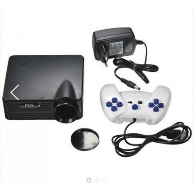Mini Proiettore Multimediale Con Console Retro-Gaming Integrata + Controller