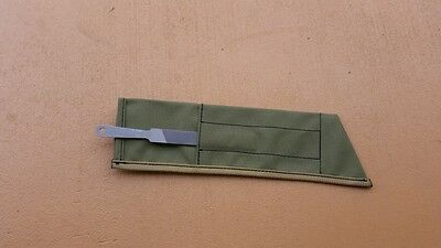 MARTINDALE GOLOK CANVAS SHEATH plus FILE