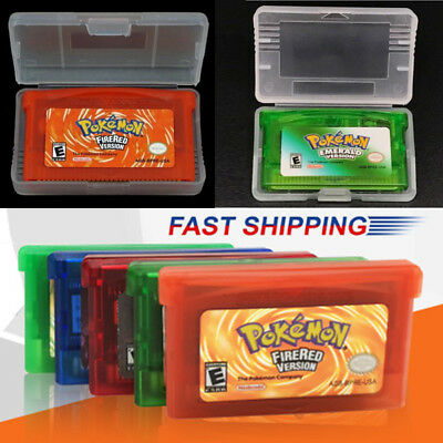 Pokemon Fire Red Or Leaf Green Or Ruby Gba Gameboy Advance Ds Sp  Uk Seller