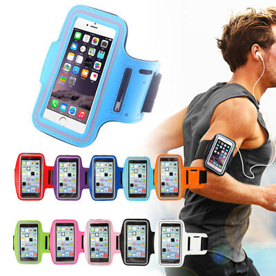 For iPhone XS Max XR X 8 7 6S 6 Case Armband Sport GYM Running Exercise Arm Band