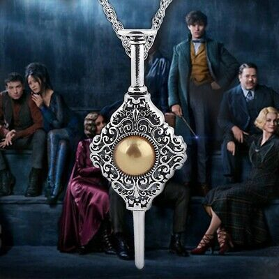 Fantastic Beasts The Crimes of Grindelwald Figure Toy Gellert Pendant Necklace
