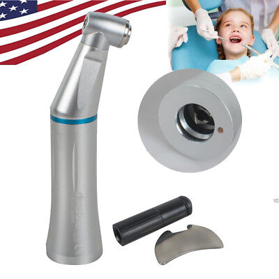 Dental Inner Water Slow Speed Handpiece Contra Angle Push Low Noise for Motor US