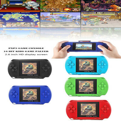 PXP3 Handheld 16 Bit Retro Kids 2.6 Inch Game Console Palyer Built-in 150 Games