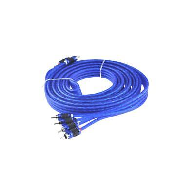 Stinger SI6417 17ft 5.2m 6000 Series 4 Channel Car RCA Amp Cable Lead