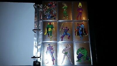 Marvel Universe 2014 Marvel Rittenhouse Complete Card Set Cryptozoic