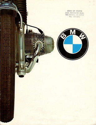 Vintage BMW Bike Racing Poster