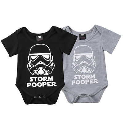 Toddler Baby Boy Girl Star Wars Romper Jumpsuit Bodysuit Playsuit Clothes Outfit