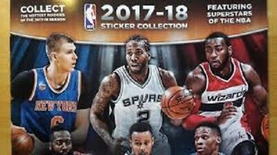 NEW 2017-2018 NBA Panini Sticker Collection, SINGLES (#2 - #444), Free Shipping
