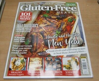 Free-From Heaven magazine Gluten Free Jan 2019 Hearty & Healthy New Year & more